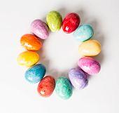 Ovos de Páscoa de alabastro