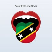 Saint Kitts and Nevis language.
