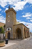 Clocktower. Ugento. Puglia. Italy.