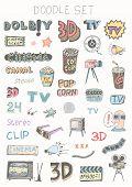 Doodle set - TV