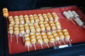 Japanese Confectionery, Mitarashi Dango
