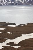 Askja And Viti Craters In Iceland