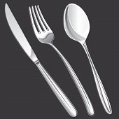 Cutlery Fork, Spoon, Knife