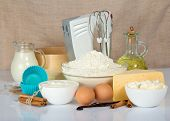 stock photo of cake-mixer  - The cake pan - JPG