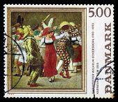 Carnival In Rome By C.w. Eckersberg