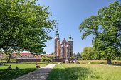Park Of Rosenborg Palace In Copenhagen