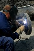 Welder And Pipe Welding