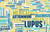 picture of medical condition  - Lupus Disease Concept as a Medical Condition - JPG