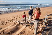 Three Teens Beach
