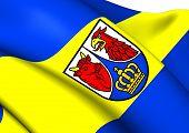 Flag Of Dahme-Spreewald
