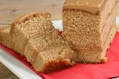 Sliced Coffee Cake