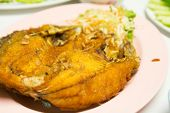 Deep-fried Marinated Snapper