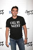 LOS ANGELES - MAY 16:  Jonathan Bennett at the UCLA's Spring Sing 2014 at Pauley Pavilion UCLA on Ma