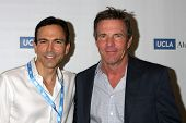 LOS ANGELES - MAY 16:  Bill Dorfman, Dennis Quaid at the UCLA's Spring Sing 2014 at Pauley Pavilion