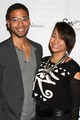 LOS ANGELES - MAY 16:  Jussie Smollett, Raven Symone at the UCLA's Spring Sing 2014 at Pauley Pavili