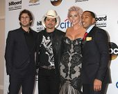 LAS VEGAS - MAY 18:  Josh Groban, Brad Paisley, Kesha, Ludacris aka Chris Bridges at the 2014 Billbo