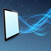 Communication Run Through Tablet Device