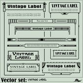Border style labels