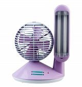 echargeable oscillating fan