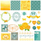 picture of ombre  - Scrapbook Design Elements  - JPG