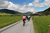 Biking In The Austrian Alps