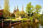 Cathedral and Minster Pool, Lichfield.