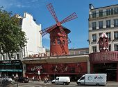 Paris - The Moulin Rouge Cabaret