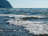 The Beach And Hills At Seaside Oregon Usa