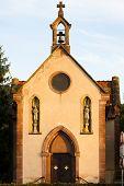 chapel near Ortenbourg, Alsace, France