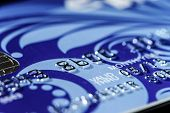 foto of plastic money  - Plastic credit card macro view money and finance - JPG