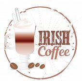 Irish coffee stamp