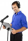 Male Voice Over Artist or Singer