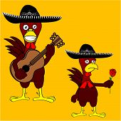 mexican chicken mariachi set4
