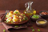 potato salad with bacon onion mustard