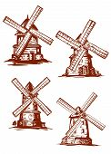 pic of windmills  - Hand - JPG