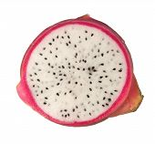 Cross Section Of A Dragonfruit
