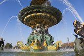 Fountain Des Fleuves, Concorde Square, Paris, Ile De France, France