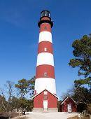 Assateague Lighthouse in Virginia