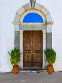 Door Of A Greek Church
