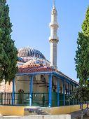 Mosque In Rhodes, Greece