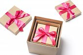 Gift Boxes Into One Another