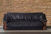 Nice And Luxurious Leather Sofa