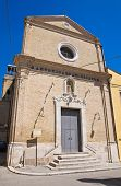 Church of St. Antonio. San Severo. Puglia. Italy.
