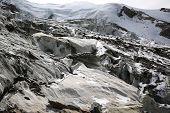 Weissmies with Glacier