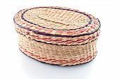 Nice Wicker Wooden  Basket