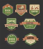picture of boy scout  - Hiking and camp badges  - JPG
