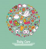 pic of baby diapers  - Baby Care - JPG