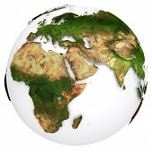 stock photo of planet earth  - Earth planet globe - JPG