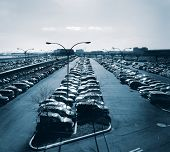 Parking lot at Newark Airport