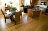 Hardwood Flooring in a large open plan home